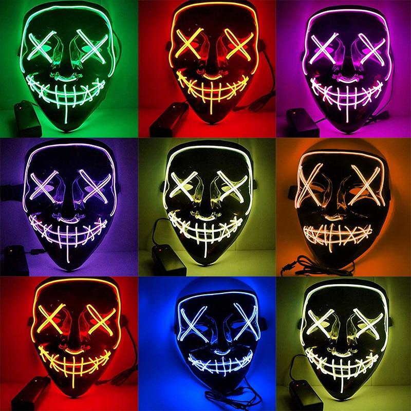 Halloween LED Purge Masks  3