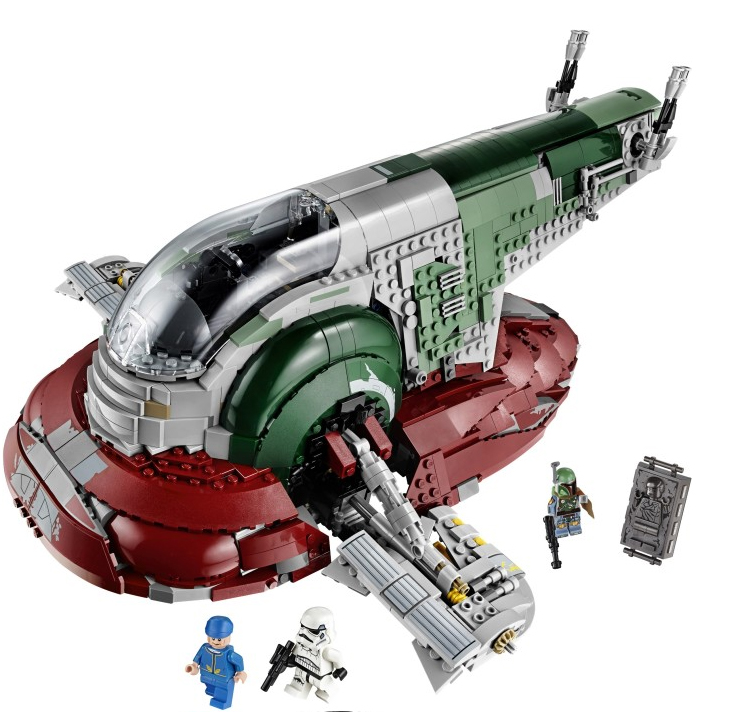 05037 The Genuine UCS Slave I Slave NO.1 Mobile 2067Pcs Building Block Bricks Toys Compatible Star Wars Movie 75060