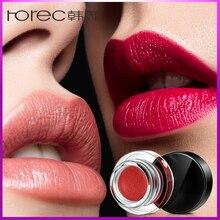ROREC Cosmetic Lipstick  Glossier Lip Gloss Make Up Lips Moisturizing For Women 8 Colors Waterproof Long Lasting Matte Lipsticks