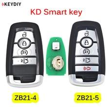 Universal KEYDIY ZB21 4 ZB21 5 KDสมาร์ทคีย์สำหรับKD X2 KDระยะไกลเปลี่ยนFitมากกว่า 2000 รุ่น