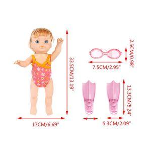Electric Swimming Doll Waterproof Breast
