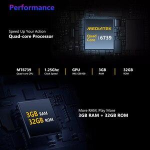 Image 4 - Nieuwe Vlaggenschip Zeblaze Thor 5 Pro Keramische Bezel 3 Gb + 32 Gb Dual Camera 800 Mah Batterij Gps/gezicht Unlock Lederen Bandjes Smart Horloge