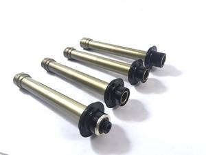 Adaptors for NOVATEC D792SB disc 6 Bolt rear hub Kits Conversion End Caps Converting Thru Axle TA Quick Release QR with side cap