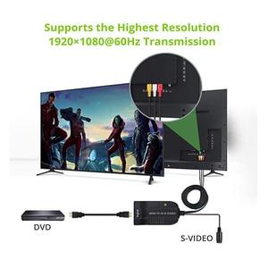 Image 5 - HDMI zu AV S Video Adapter HDMI Eingang S Video AV CVBS Ausgang Video Converter