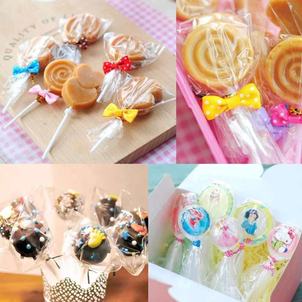 Wyczyść celofan Opp plastikowe torby na cukierki Lollipop opakowanie na ciasteczka worek do przechowywania wesele prezent wiolonczela worek foliowy