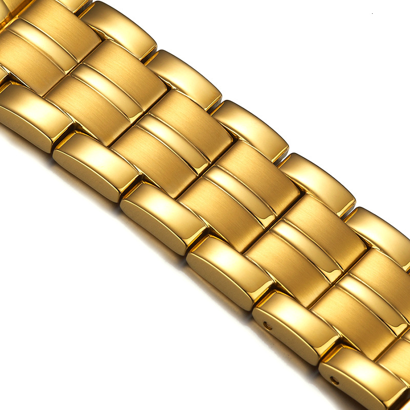 Marca de lujo ROSDN relojes de pareja Japón movimiento de cuarzo reloj de hombre 8 mm ultrafino zafiro resistente al agua 18K relojes de oro R3088M - 6