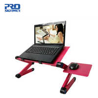 Laptop desk, lazy portable bed computer desk, ergonomic foldable desk stand with mouse pad By Prostormer