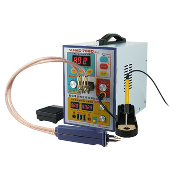 цена на SUNNKO 769D SPOT WELDER MACHINE 110V/220V BATTERY WELDING MACHINE WITH 71A SOLDERING PEN FREE SHIPPING