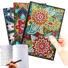 HUACAN DIY Diamond Painting Notebook Special Shaped A5 Diary Book Art Kits Mosaic Embroidery