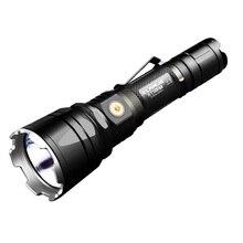 KLARUS XT12GT LED Taschenlampe 1600 Lumen CREE LED XHP35 HALLO D4 Wasserdichte Taktische Aufladbare Taschenlampe with18650 Batterie