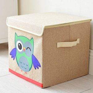 Japanese Cartoon owl storage b