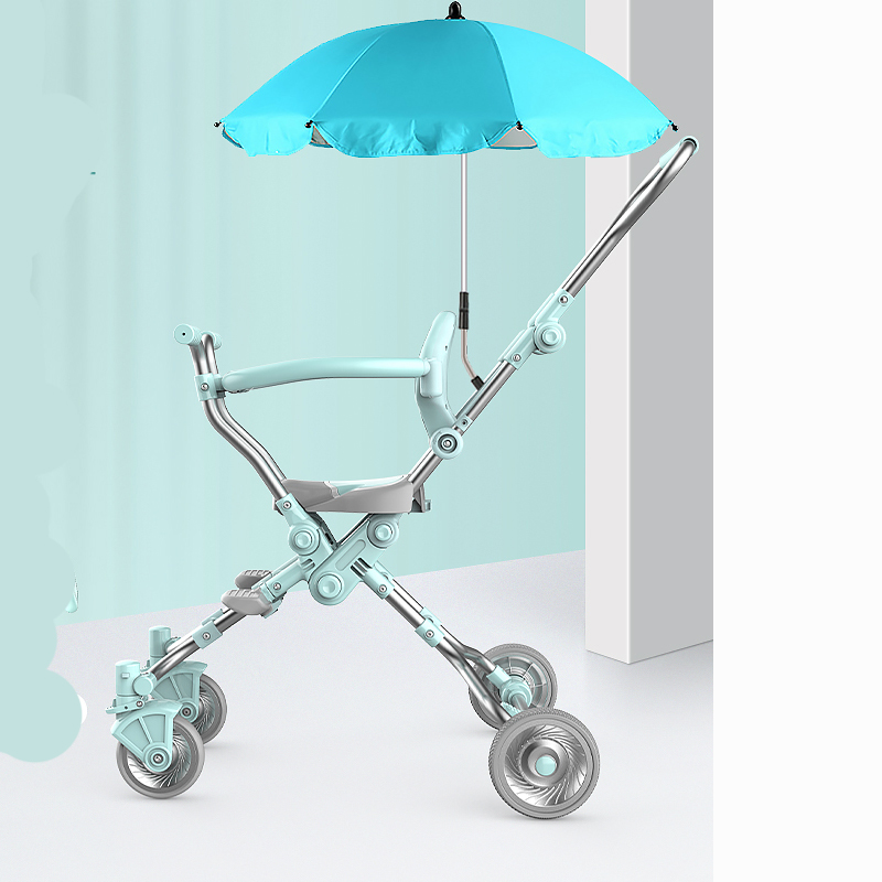 Ultra-light Folding Baby's Doll-walking Artifacts Simple High-view Children's Trolley Baby Strollery