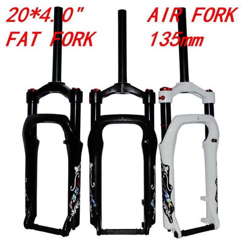 Suspension Fork 26*4.0 Snow//Beach//MTB Bike 100mm Travel 135mm Oil Fat Forks US