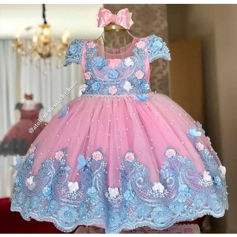 Verngo Flower Girl Dress