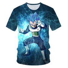 Anime Dragon Ball Super Kids 3D Print Cartoon T shirt Summer Fashion 2019 Streetwear Boys TShirt For Girls Children Clothes