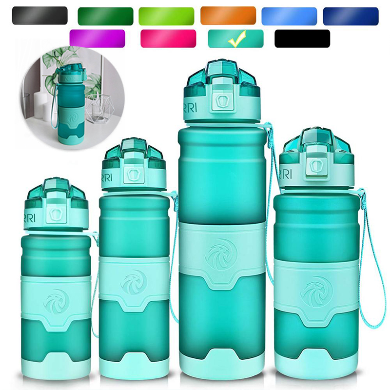ZORRI New Shaker Sports Water Bottle Gourde Water+Bottles Fashion Bpa Free Portable Tourism And Camping Drink Bottle 1000 ml|Water Bottles|   - AliExpress