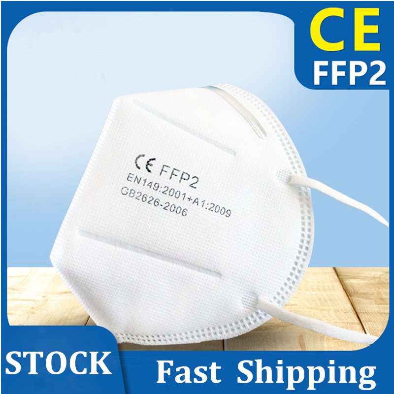 FFP2 KN 95 Mask Face Mouth Mask PM2.5 4 Layer Filter Pad Protective Mask Safety Breathable Mascarillas FFP 2 Anti Dust Fast Ship