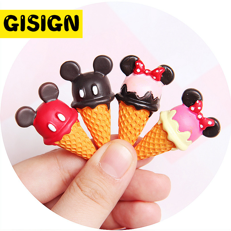 Diy Mouse Ice Cream Charms For Slime Polymer Filler Addition Slime Accessories Toys Lizun Powder Modeling Clay Kit For Children