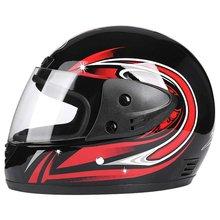 Motorcycle Open Face Helmet Motorbike Moped Jet Bobber Pilot Crash Chopper Half