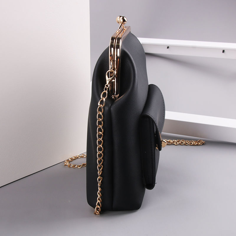 women`s handbags pu leather kiss lock shell bags (8)