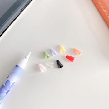 3 sztuk zestaw cukierki kolor wskazówka dla Apple Pencil 2 1 Protector Case dla Apple Pencil 2nd 1st stalówka ekran Stylus Cute ochronna tanie i dobre opinie Lekaari CN (pochodzenie) Ekran pojemnościowy Urządzenia PDA For Apple Pencil 1 2 Tip Protective Case Silicon For Apple Pencil 1 2st Pen Point Stylus Penpoint Cover