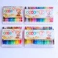 Cores Lápis de Cor Pastel de Óleo 10 Criativo Lápis Colorido Graffiti Pen Crianças Pintura Desenho Kawaii Conjunto de artigos de Papelaria do Pastel Não-Tóxico