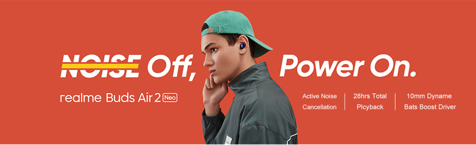 Realme Buds Air 2 Neo Wireless Earbuds 6