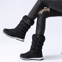 MORAZORA Plus size 36-41New 2020 Snow boots women zip rhinstone wedges mid calf down winter boots fashion warm fur boots female