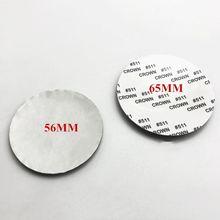 4pcs/lot car sticker 56mm 65MM Car Wheel Center Hub Cap Cover metal Sticker Rim Emblem Badge Fit For MAZDA 3 cx-3 cx-5 M5 M6