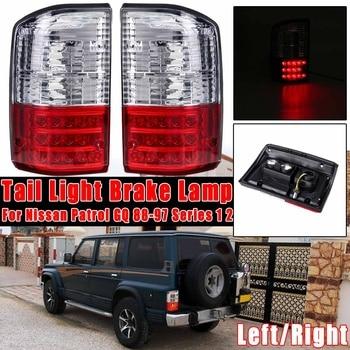 Rear Tail Light Red Brake Lamp Rear Bumper Light For Nissan Patrol GQ 1988 1988 1989-1997 Series 1 2  Tail Stop Lamp 26550-05J00