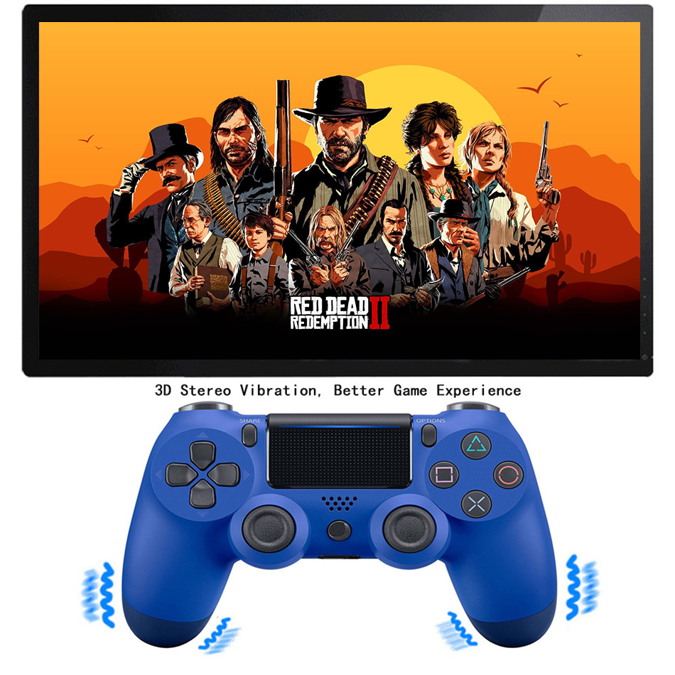 Bluetooth Gamepad and Wireless Gaming Controller for PS4 Pro/PC/iPhone/Android Smartphone 9