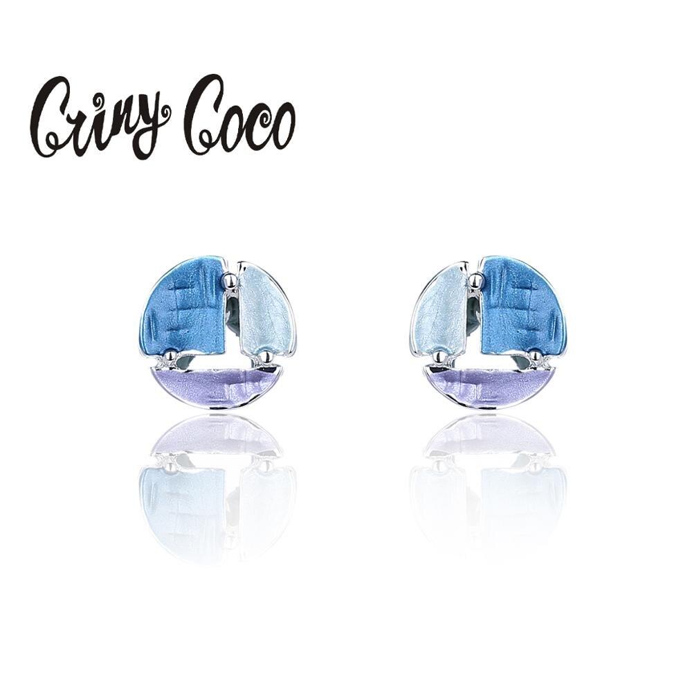 European and American Hot Selling Stud Earrings Women's Metal Alloy Jewelry Ladies Fashion Simple Geometric Earring for Women