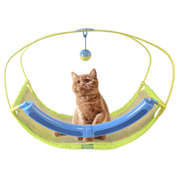 Pet Hammock Mesh Sleeping Bed Play Toys Pets Cat Play Swing Hammock Pets Game Sofa Toys Hanging Bed Rest Nest Cushion