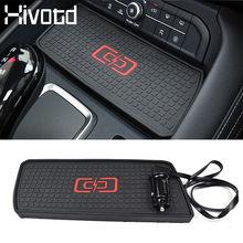 Hivotd – boîte de rangement pour chargeur de voiture sans fil, accoudoir pour Haval F7 F7X, accessoires coussin de chargement rapide, style d'intérieur 2019 2020