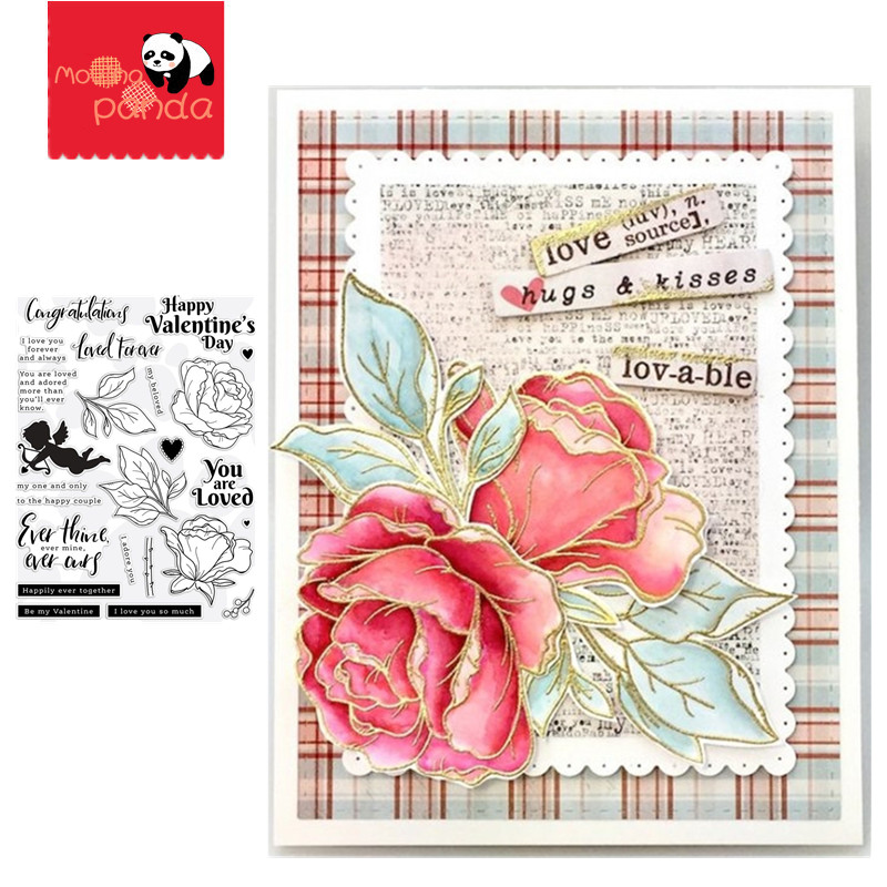 BE MY VALENTINE Metal Cutting Dies And Stamps For DIY Scrapbooking Photo Album Decorative Embossing DIY Paper Cards