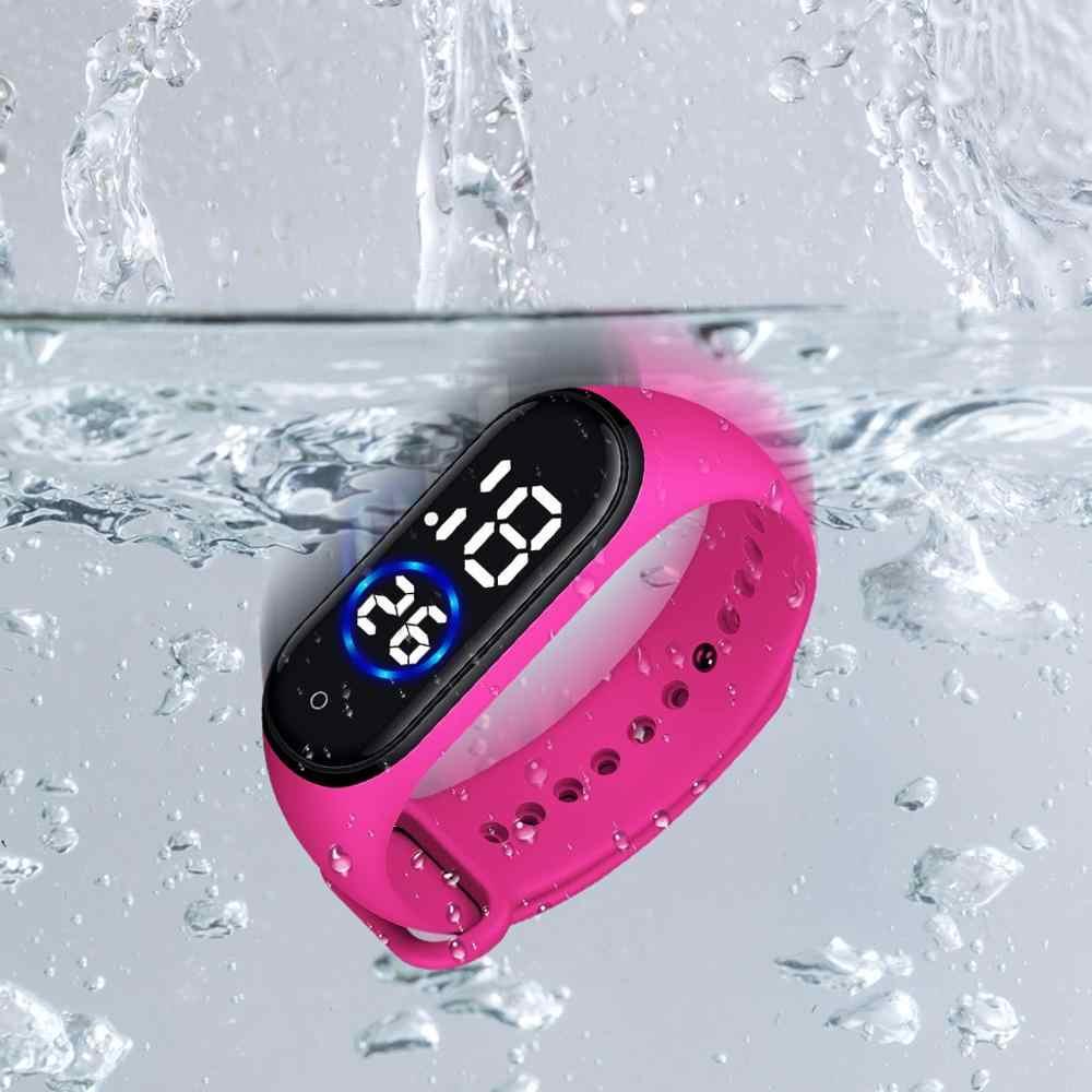 Relogio masculino Moda Digital LED Sports Watch Unisex Silicone Banda Relógios De Pulso Dos Homens Das Mulheres do Sexo Feminino Pulseira de Relógio NOVO A10