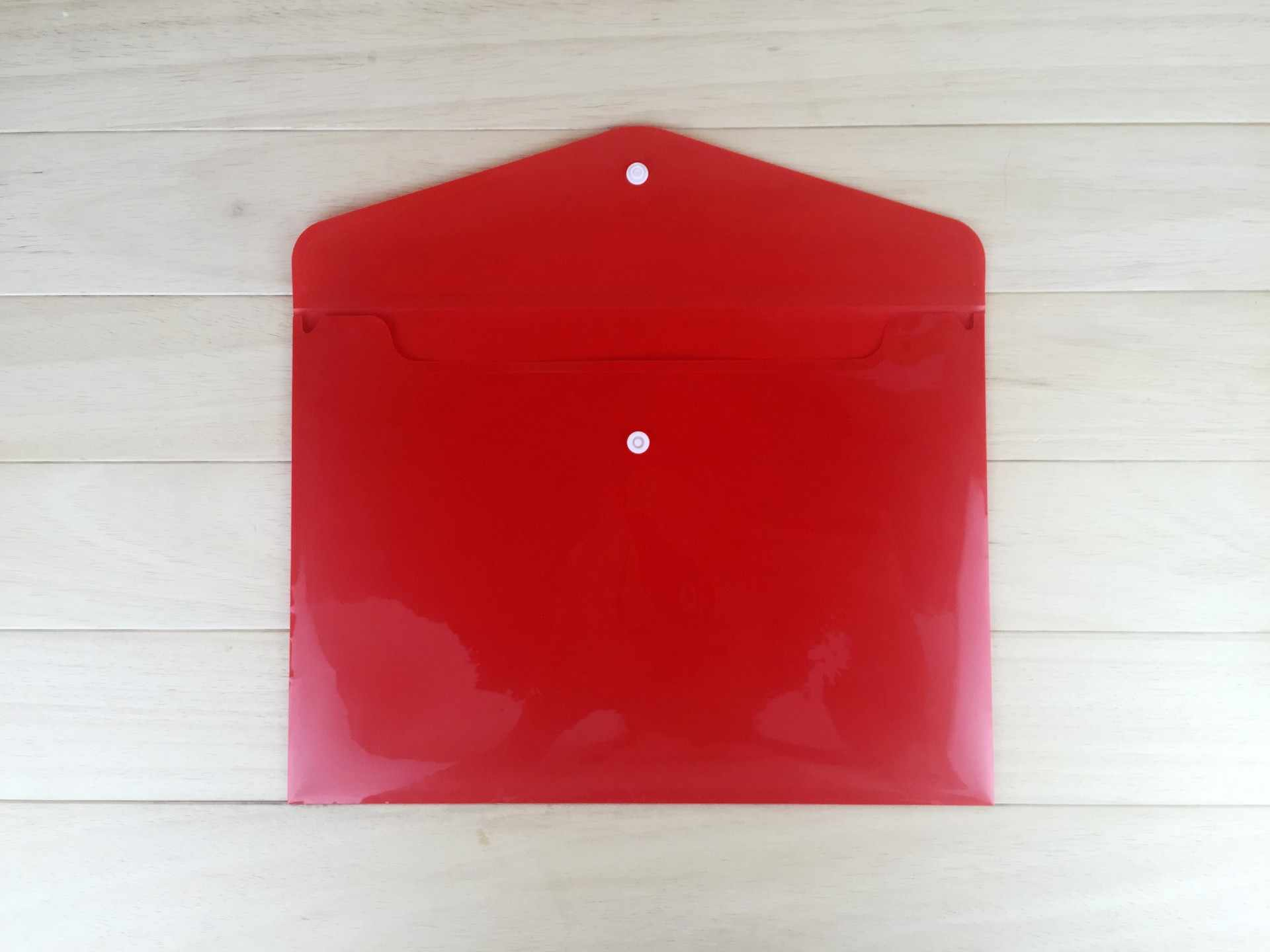 Colore A4 Titolare di File di Plastica Sacchetto Della Moneta di Spessore Della Vite Prigioniera Titolare di File Sacchetto di File Trasparente Sacchetto di Carta All'ingrosso