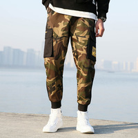 2019 New High Quality Skinny Streetwear Joggers Hip Hop Cargo Military Tactical Camouflage Harem Men Fashion