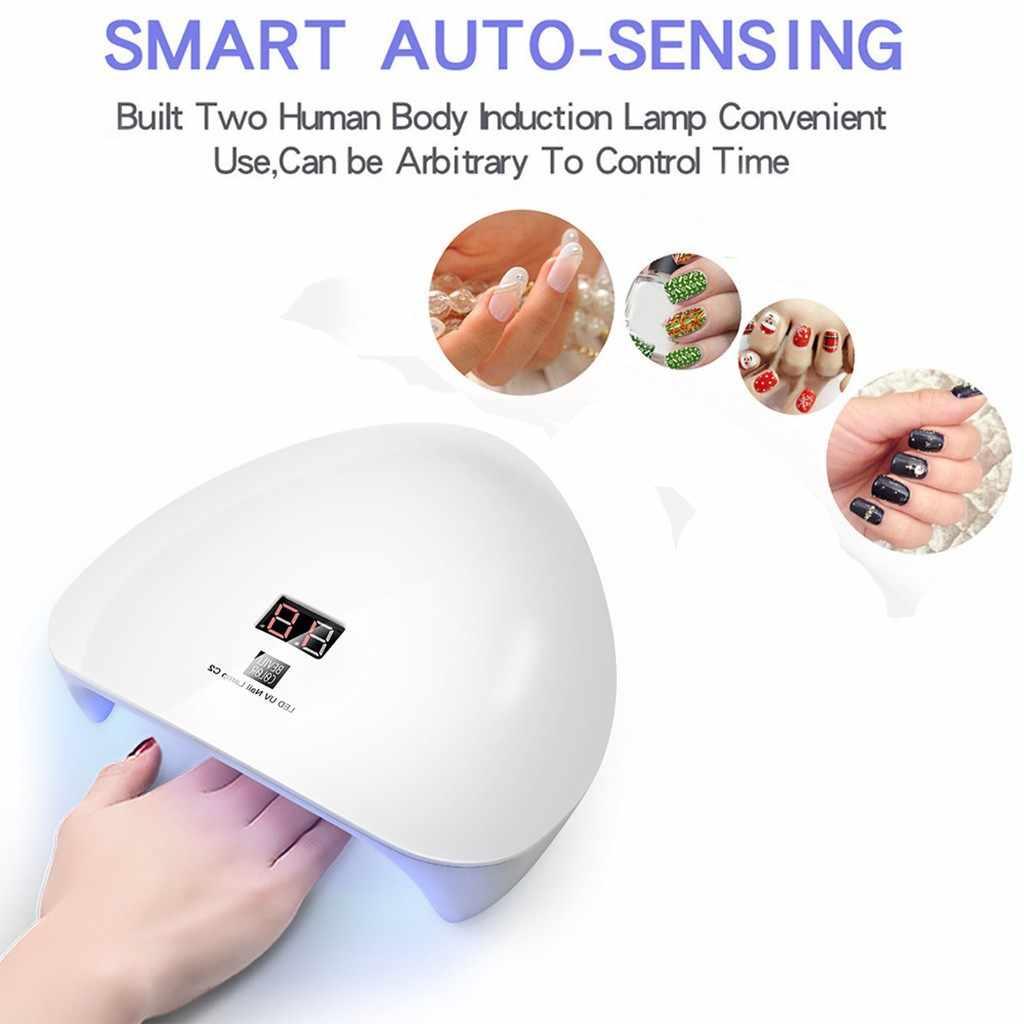 Новый стиль 45 Вт УФ/светодиодный светильники на солнечных батареях гель для ногтей отверждения машинка для дизайна ногтей USB лампа Свет Сушилка для гель-лака лампа для ногтей Прямая доставка