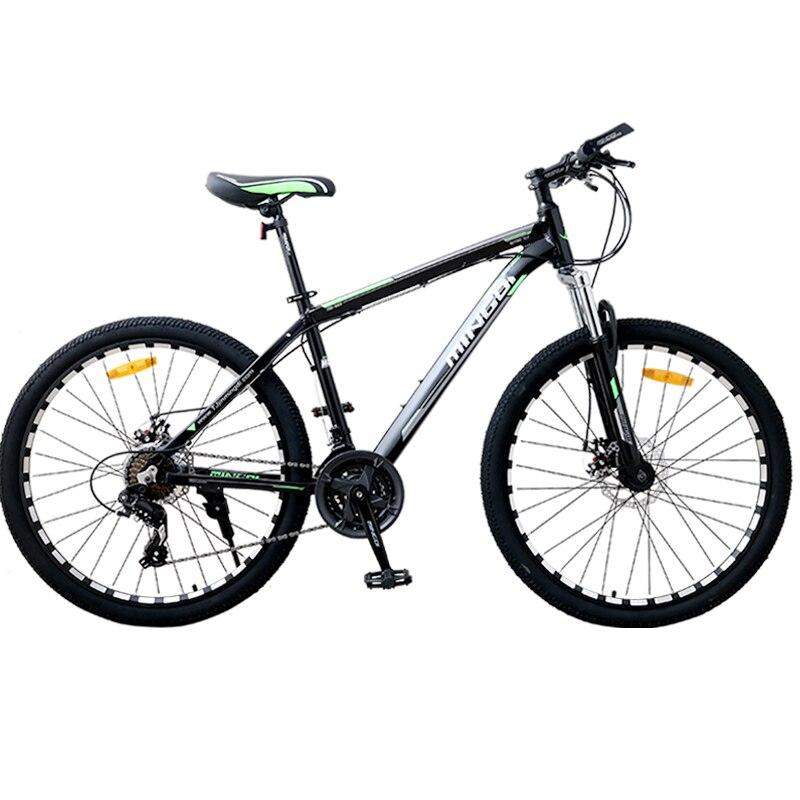 Новый велосипед 26 дюймов горный велосипед из алюминиевого сплава мужской велосипед 24-скоростной взрослый велосипед Велоспорт MTB велосипед ...
