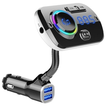 Car bluetooth car kit FM Transmitter modulator aux Usb handsfree Speakerphone QC3.0 Charger 5.0 for Android/IOS p