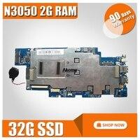 1501b_01_01 100s-14ibr placa-mãe para For Lenovo ideapad 100s-14ibr notebook placa-mãe cpu n3050 2g ram 32g ssd 100% trabalho de teste