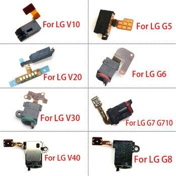 Earphone ear phone Headphone Audio Jack For LG V10  K10  V20 V30 G5 G6 G7 G710 G8 V40 V50 Replacement Parts 1