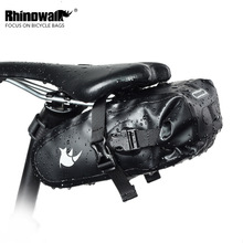 RHINOWALK Bicycle Bag Bike Waterproof Storage Saddle Bag Seat Cycling Tail Rear Pouch Bag Saddle Bicycle Accessories kugai cycling bicycle bike fashion saddle seat tail bag black red 12 l