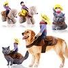 Dog clothes cat pet supplies pet riding equipment dress Halloween funny small medium dog leotard coat clothes role play