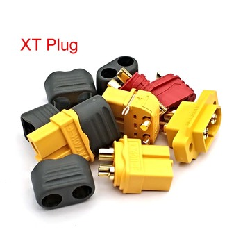 XT60 XT-60 Male Female Bullet Connectors Plugs for RC Lipo Battery AM-1015E-M/F XT60E1-M XT60H-F XT60PW-M/F MR30-M/F image