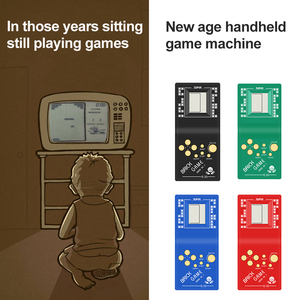 Image 4 - Childhood Retro Classic Tetris Handheld Game Player 2.7 LCD Electronic GameToys Pocket Game Console Riddle Educational Toy