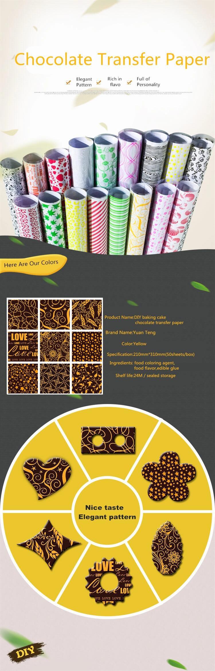 Transfer chocolate DIY Chocolate Mold Mix Hot Design ??