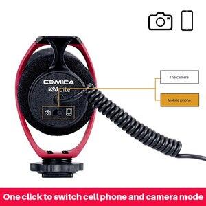 Image 5 - Comica V30 Lite のビデオ写真撮影録音マイク Vlog カメラ電話用マイク iphone サムスン S10 Note10