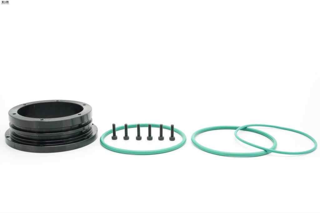 Sealed cabin flange//watertight flange//Acrylic tube flange//ROV underwater robot